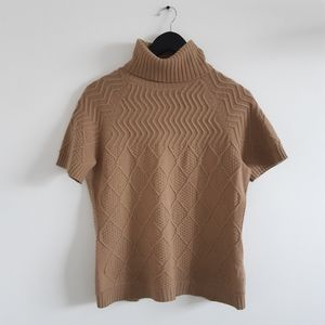 LAFAYETTE 148 New York Aran-Stitch Sweater